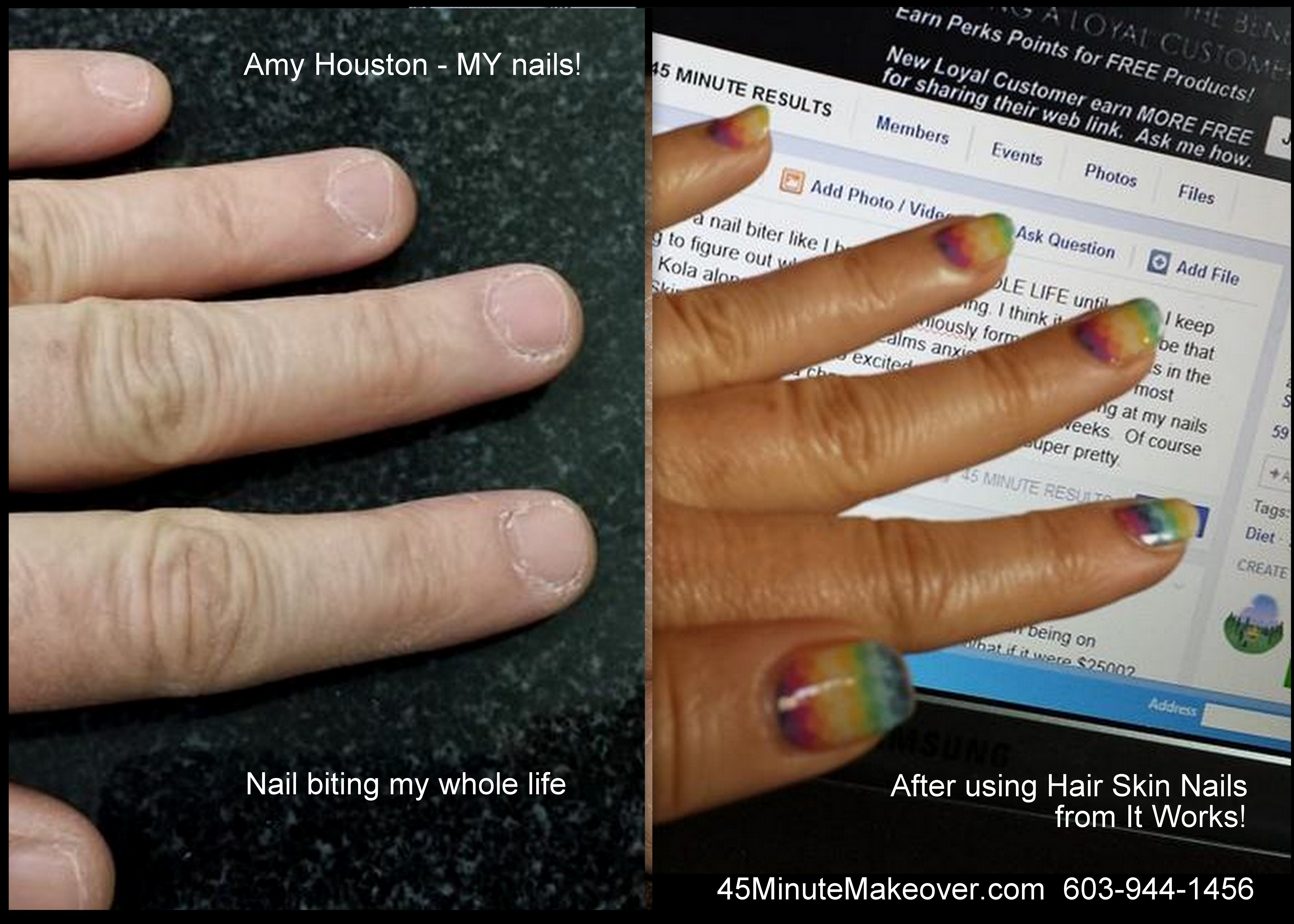 Finger Nail | 45 Minute Makeover - DIY Body Wraps, Nutrition, Skin Care